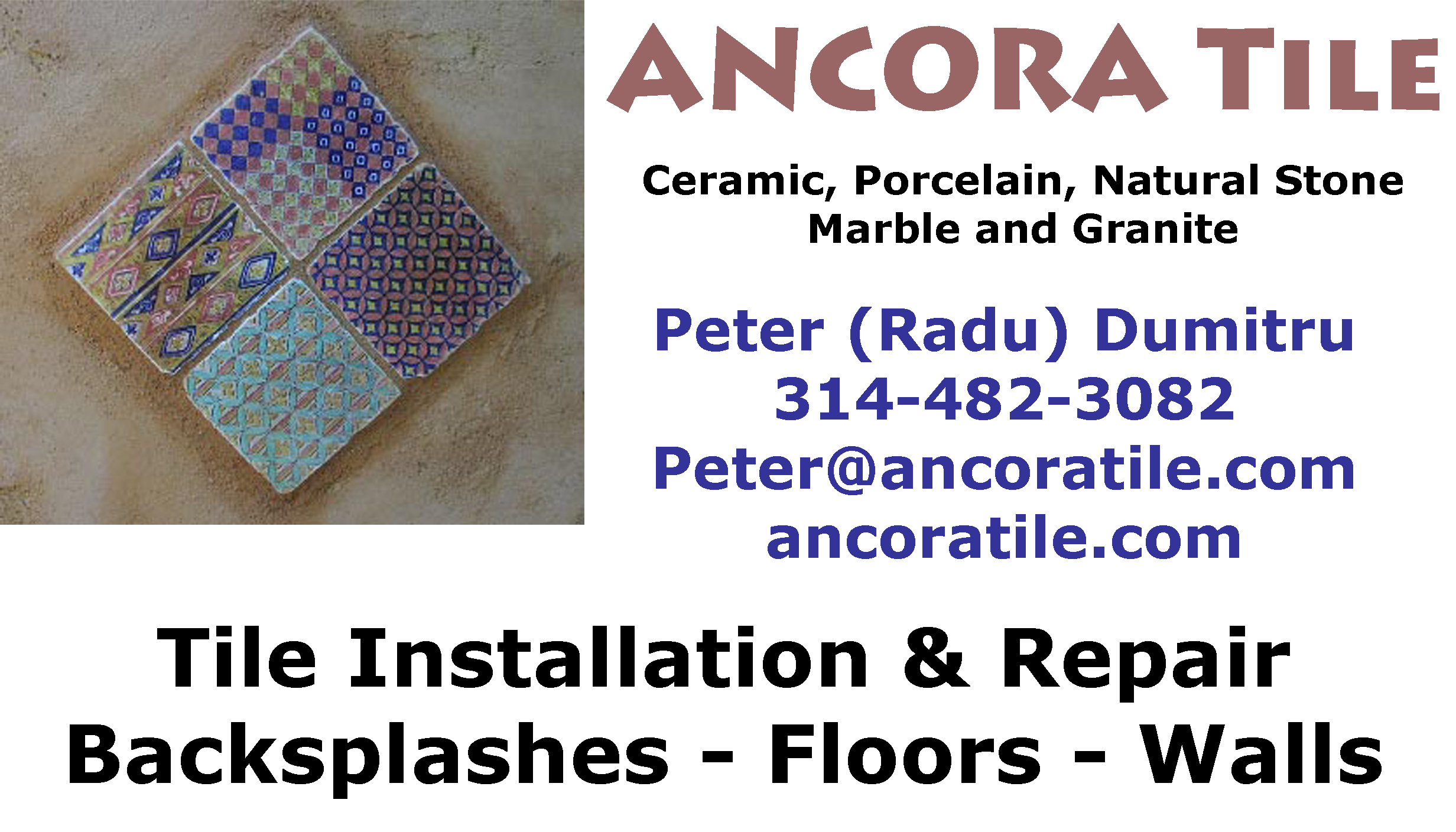 Services Ancora Tile Your Source For Tile Installation